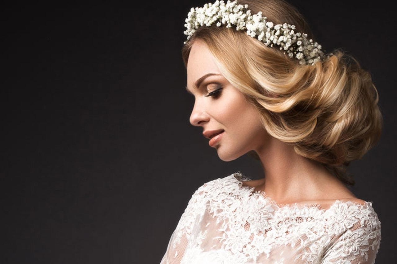 صور تسريحات الشعر للعروس 2019 , الليلة ليلتك يا عروسة تميزي وتالقي بشعرك
