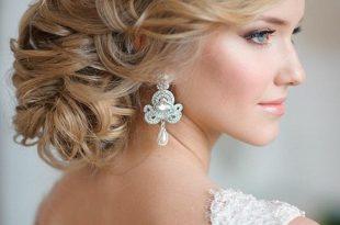 بالصور تسريحات الشعر للعروس 2019 , الليلة ليلتك يا عروسة تميزي وتالقي بشعرك 54 8 310x205