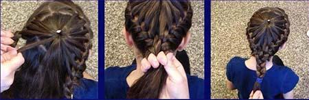 صورة تسريحات شعر بسيطة بالخطوات والصور للاطفال , اخترنا لابنتك اسهل التسريحة 59 1