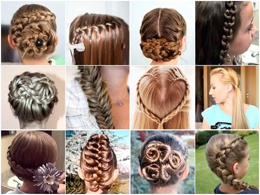 صورة تسريحات شعر بسيطة بالخطوات والصور للاطفال , اخترنا لابنتك اسهل التسريحة 59 7
