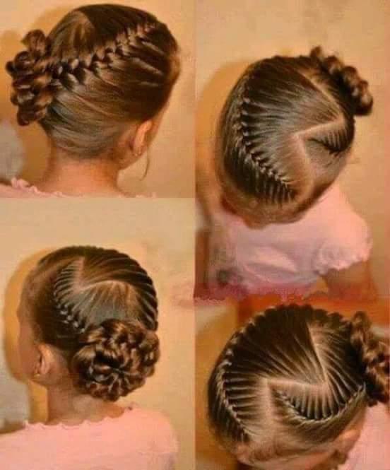 بالصور تسريحات شعر بسيطة بالخطوات والصور للاطفال , اخترنا لابنتك اسهل التسريحة 59 9