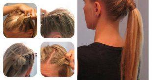 صور تسريحات شعر سهلة و بسيطة , دلعي البنوتة واختاري تسريحتها