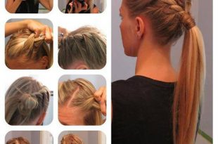 بالصور تسريحات شعر سهلة و بسيطة , دلعي البنوتة واختاري تسريحتها 60 9 310x205