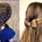 تسريحات شعر للبنوتات احدث تسريحات شعر بنات صغار 2020 , ادلعي بشعرك وجنني اللي حواليك