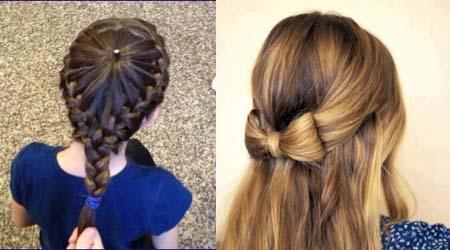 صوره تسريحات شعر للبنوتات احدث تسريحات شعر بنات صغار 2019 , ادلعي بشعرك وجنني اللي حواليك