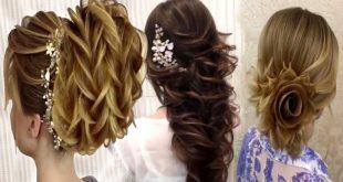 بالصور تسريحات شعر مناسبات اجمل التسريحات بتجنن 2019 , ظبطى شعرك يا قمراية و ابهرى الكل 62 9 310x165