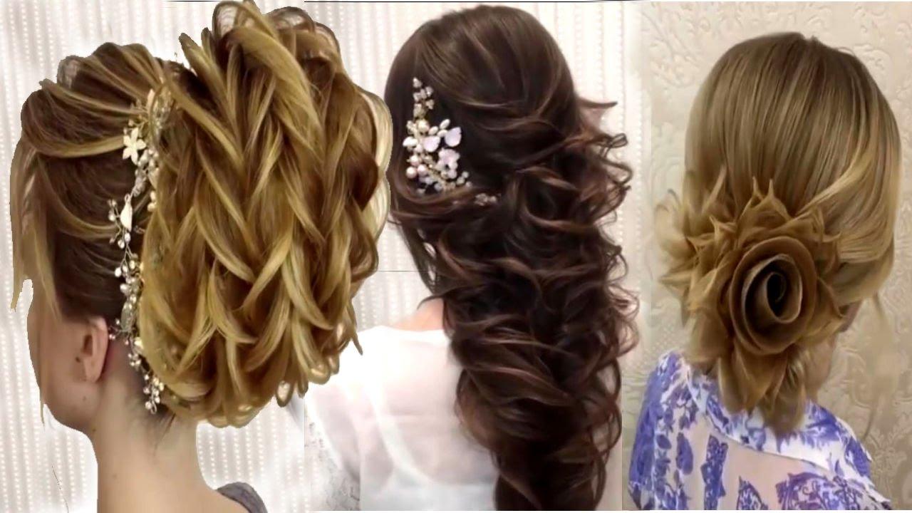 صور تسريحات شعر مناسبات اجمل التسريحات بتجنن 2019 , ظبطى شعرك يا قمراية و ابهرى الكل