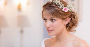 صورة صور تسريحات شعر للعروس تسريحات عرايس مع تاج 2020 , يوم فرحك يا عروسة اتزيني بشعرك وتاجك