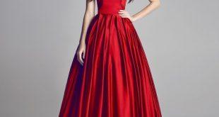 بالصور صور فساتين لون احمر , موديلات جذابة جدا 142 10 310x165