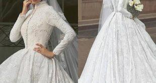صورة فساتين زفاف 2020 للمحجبات , احدث الصور من معرضي