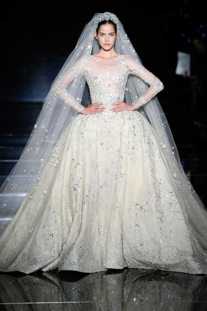 بالصور صور فساتين اعراس ايلي صعب , اكبر مصممين الازياء في العالم 261 9