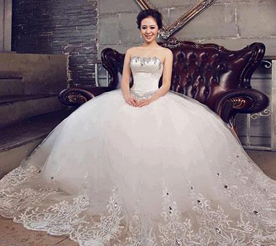 بالصور صور فساتين اعراس ناعمة , فستان ليلة العمر 331 2