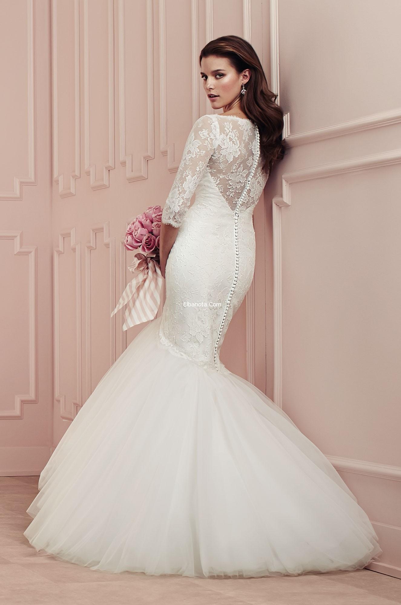بالصور صور فساتين اعراس ناعمة , فستان ليلة العمر 331 4