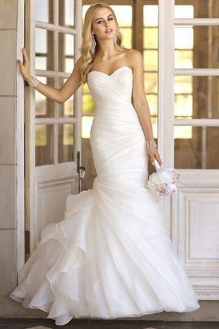 بالصور صور فساتين اعراس ناعمة , فستان ليلة العمر 331 5