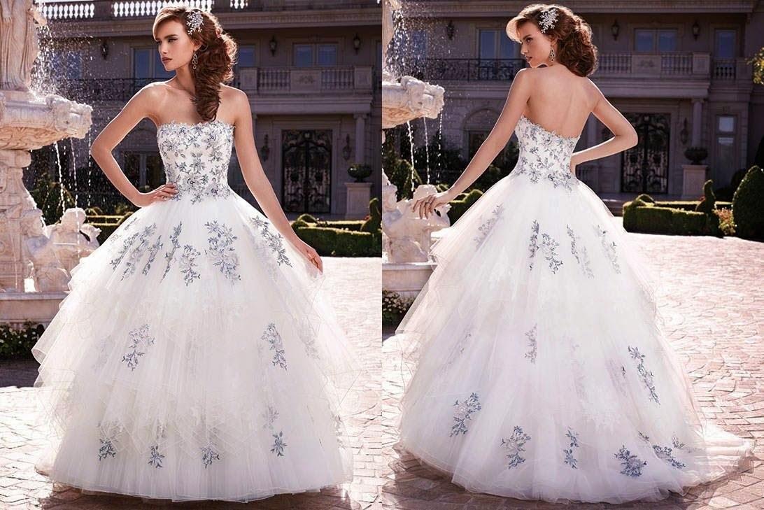 بالصور صور فساتين اعراس ناعمة , فستان ليلة العمر 331 6
