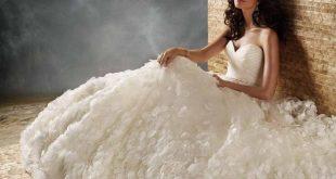 صور فساتين اعراس ناعمة , فستان ليلة العمر
