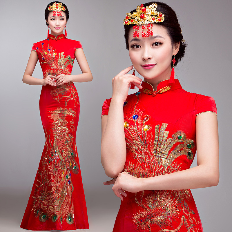 صوره تصاميم فساتين صينيه , فن الصين في احدث التصميمات