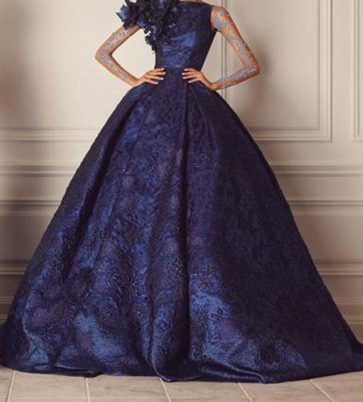 بالصور فساتين سهره واسعه , اهتمامك في اختيارك لفستانك 342 5