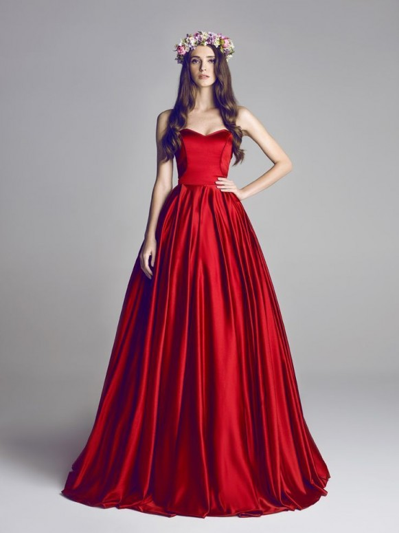 بالصور فساتين سهره واسعه , اهتمامك في اختيارك لفستانك 342 7