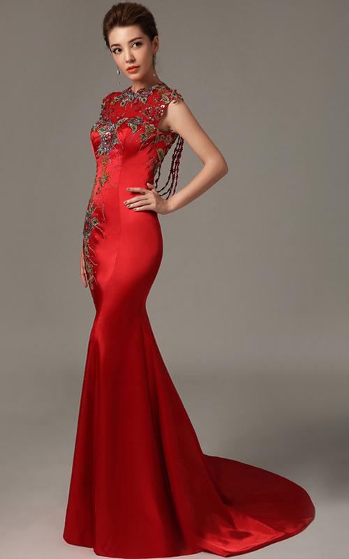 بالصور صور فساتين طويله للسهره , فن اختيار الفساتين الراقيه 345 3