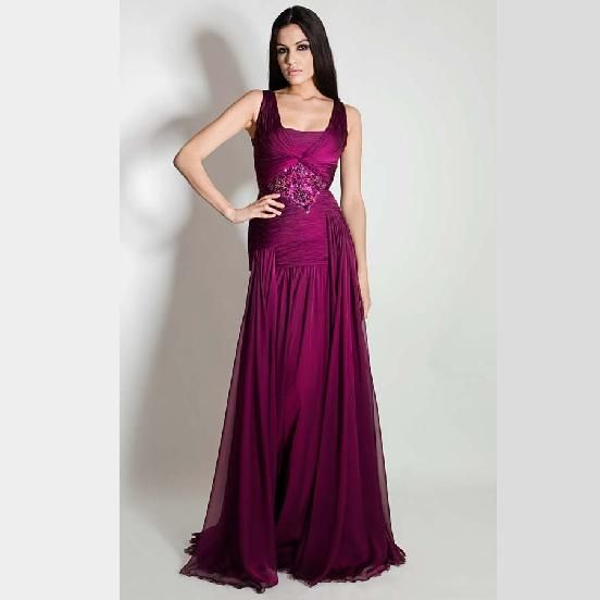 بالصور صور فساتين طويله للسهره , فن اختيار الفساتين الراقيه 345 7
