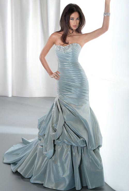 بالصور اجمل صور فساتين , فستان خطوبه جميل 360 7