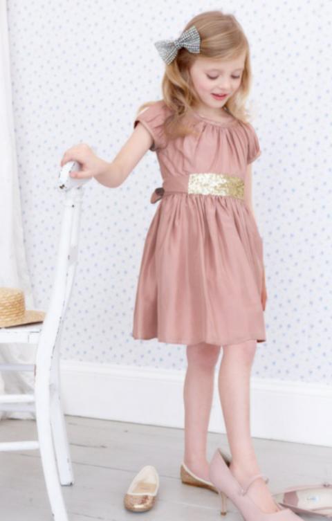 بالصور فساتين اطفال للمناسبات , فستان شياكة للبنوتة الصغيرة 363