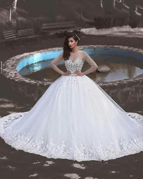 صوره فساتين عرايس جديده , ما هو الفستان المناسب لكي
