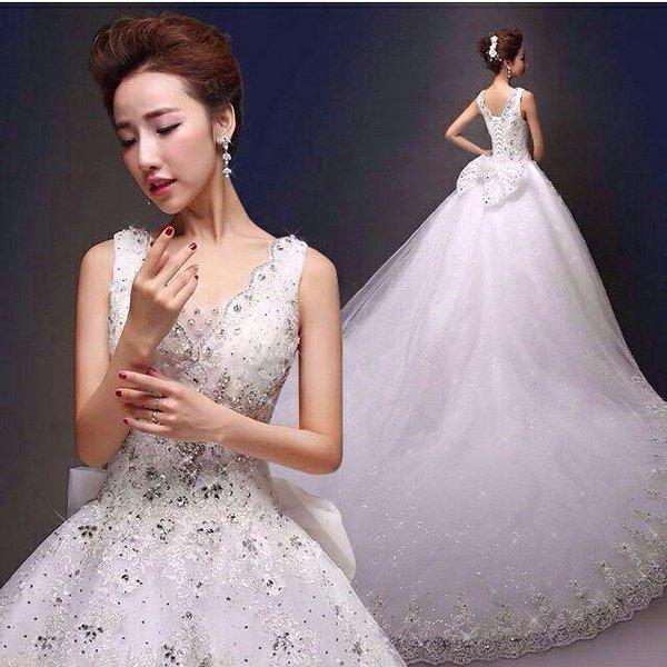 بالصور فساتين زفاف 1999 , فستان للبيع والايجار 377 8