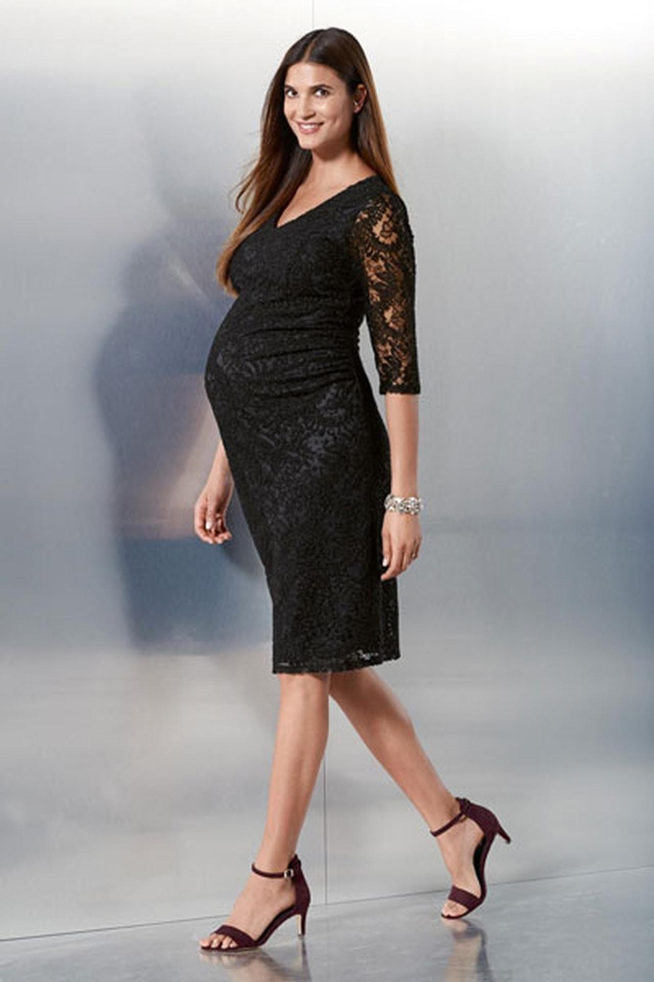 صوره ملابس حوامل انيقه , اجمل لبس خروج للحامل