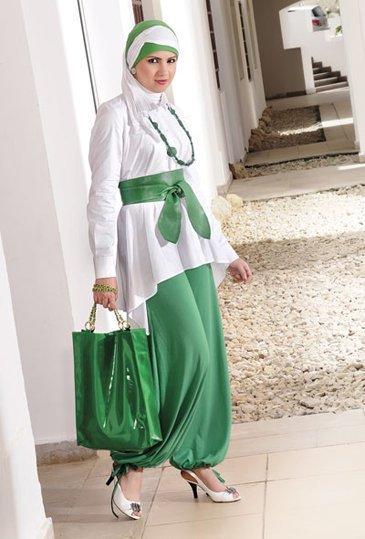 بالصور ملابس شيك للمحجبات , ثياب جديد للمحجبه 383 3