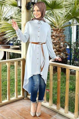 بالصور ملابس شيك للمحجبات , ثياب جديد للمحجبه 383