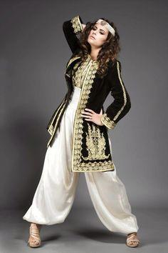بالصور ملابس عصرية جزائرية , لباس جزائري جميل 384 3