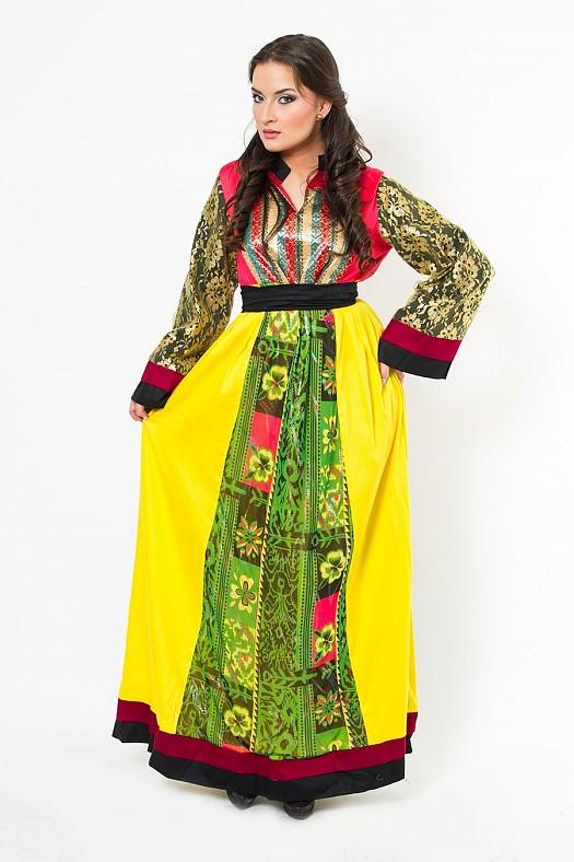 صوره ملابس عصرية جزائرية , لباس جزائري جميل