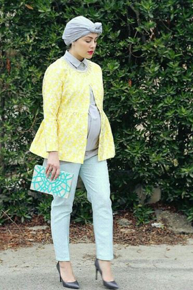 صوره صور ملابس للحوامل , موديلات تناسب فترة الحمل