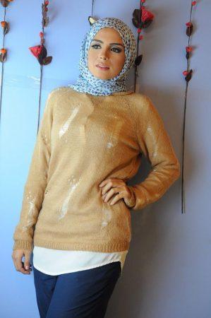 بالصور ملابس محجبات كاجوال للمراهقات , اشيك الموديلات للبنت المحجبه 392 3