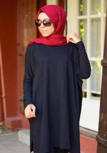 بالصور ملابس محجبات كاجوال للمراهقات , اشيك الموديلات للبنت المحجبه 392 9