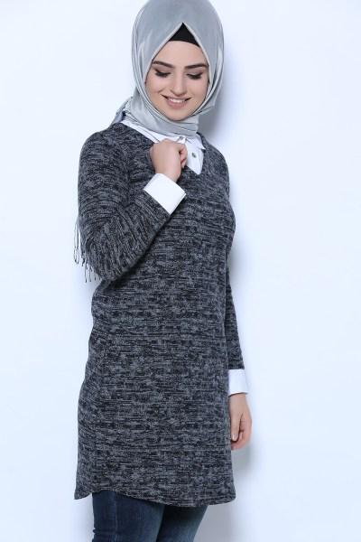 بالصور صور تونيكات محجبات , الاناقة في لبس المحجبات 400