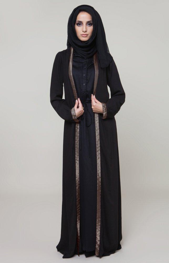 بالصور صور عبايات ناعمة , ملابس للمحجبات 410 5