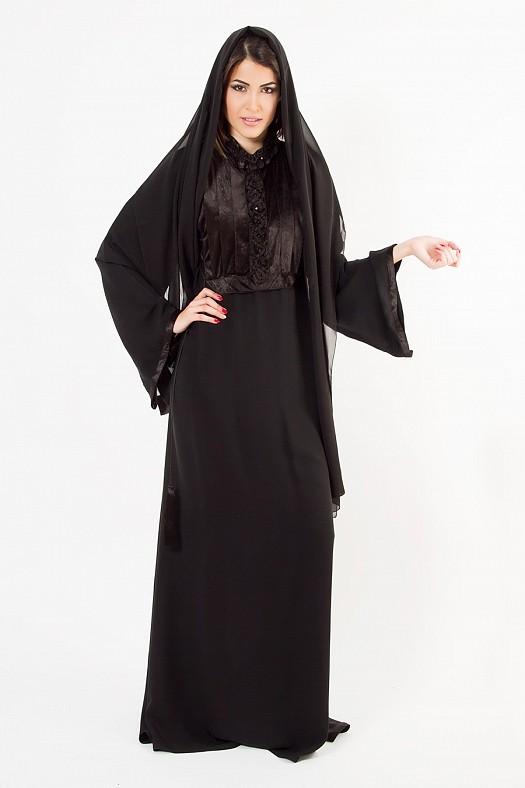 بالصور صور عبايات ناعمة , ملابس للمحجبات 410 7