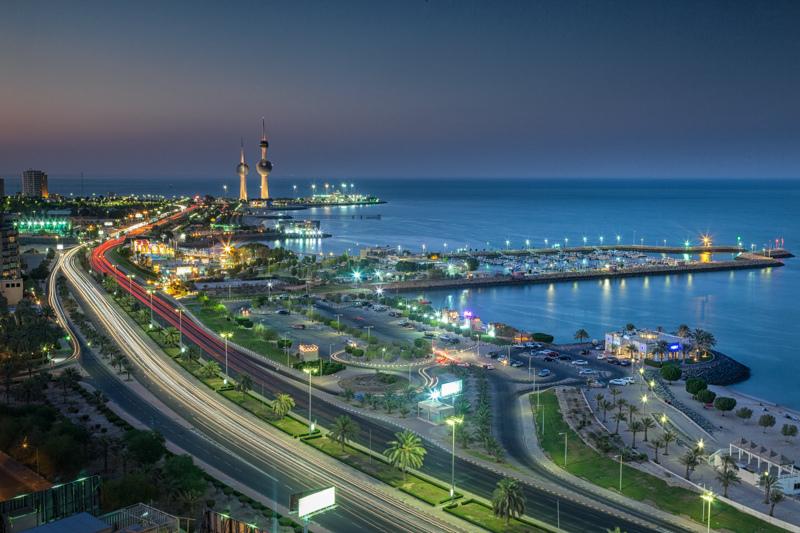 صورة صور عن الكويت , لقطات من مدينة القرين