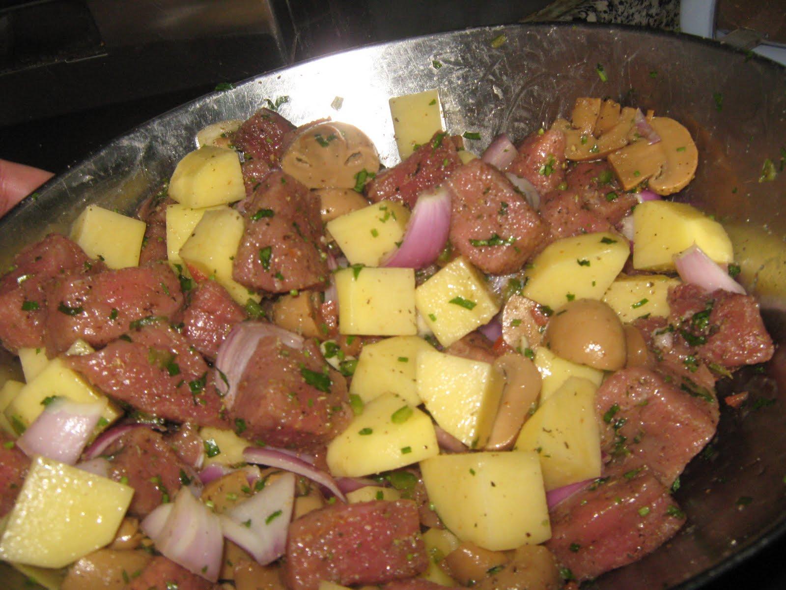 بالصور لحمه في الفرن بالصور , وصفات طهي طاجن 430 2