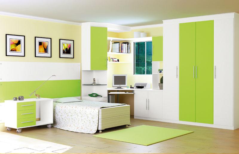 بالصور ديكورات باللون الاخضر , اثاث بالوان زاهية 520 4