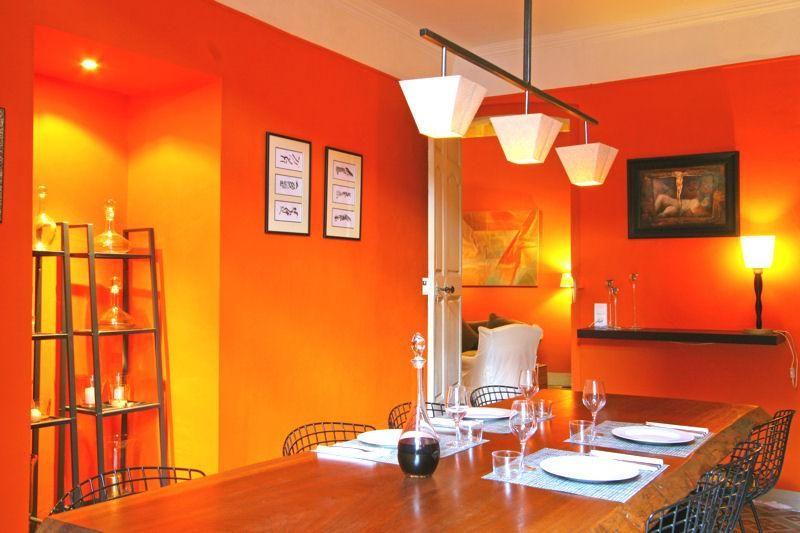 بالصور ديكورات باللون البرتقالي , اثاث بلون الشمس 521 2