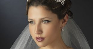 صوره صور تسريحات عرايس مع تاج صور تاج للعروسة , احدث صيحات الشعر ليوم الزفاف