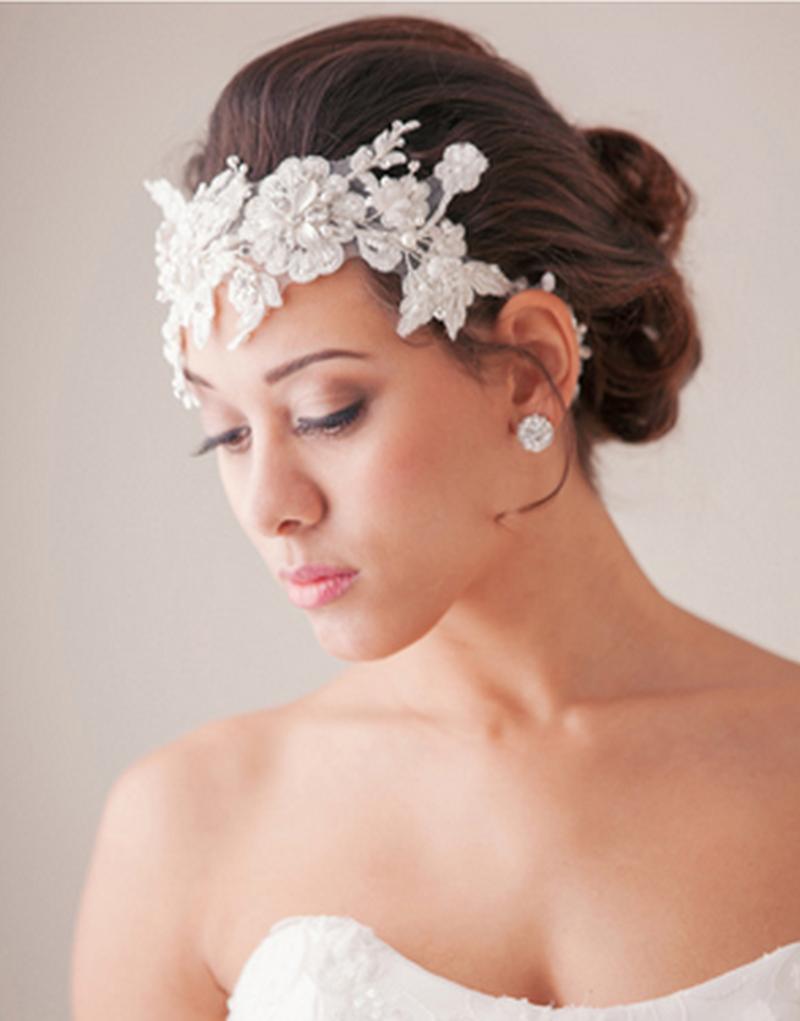 بالصور صور تسريحات عرايس مع تاج صور تاج للعروسة , احدث صيحات الشعر ليوم الزفاف 68 2