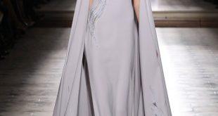 صورة ليكن ماترديه يعكس شخصيتك احدث فساتين مع المصمم اللبنانى ورد , ملابس علي التصميم اللبناني