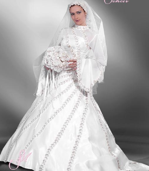 بالصور اروع فساتين زفاف لتكونى اميره ف فرحك , ابرز تصميمات للفرح 748 2