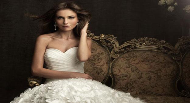 بالصور اروع فساتين زفاف لتكونى اميره ف فرحك , ابرز تصميمات للفرح 748 8