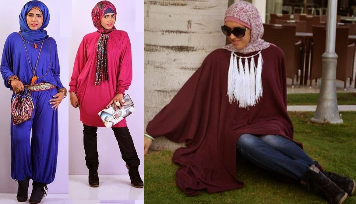 بالصور ازياء شتاء للمحجبات , اجمل تشكيله من ملابس المحجبات 102 3